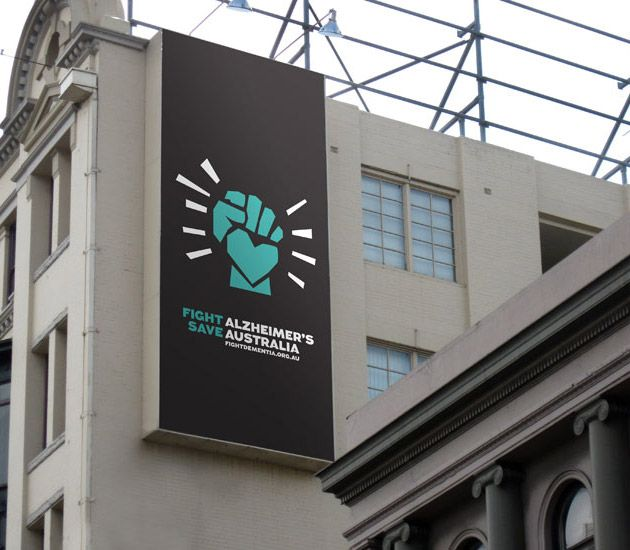 great identity makeover for Alzheimer's Australia...love the interplay of the logo with the messaging...