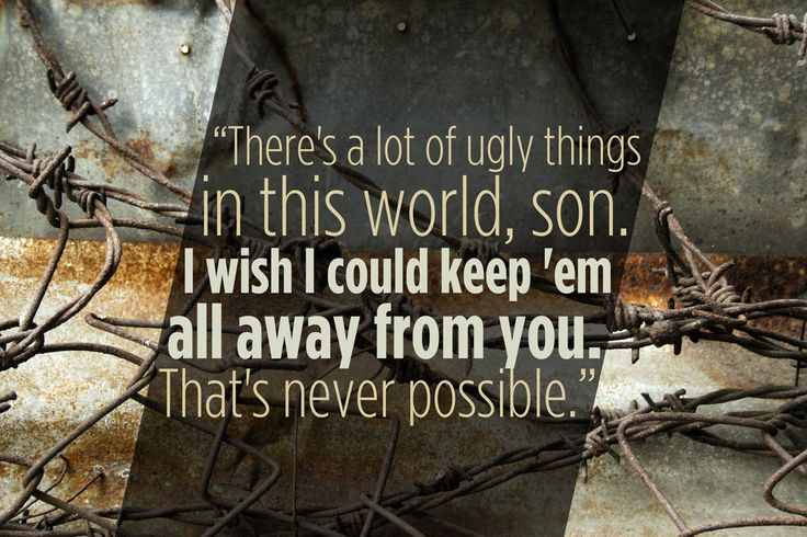 """On growing up: 