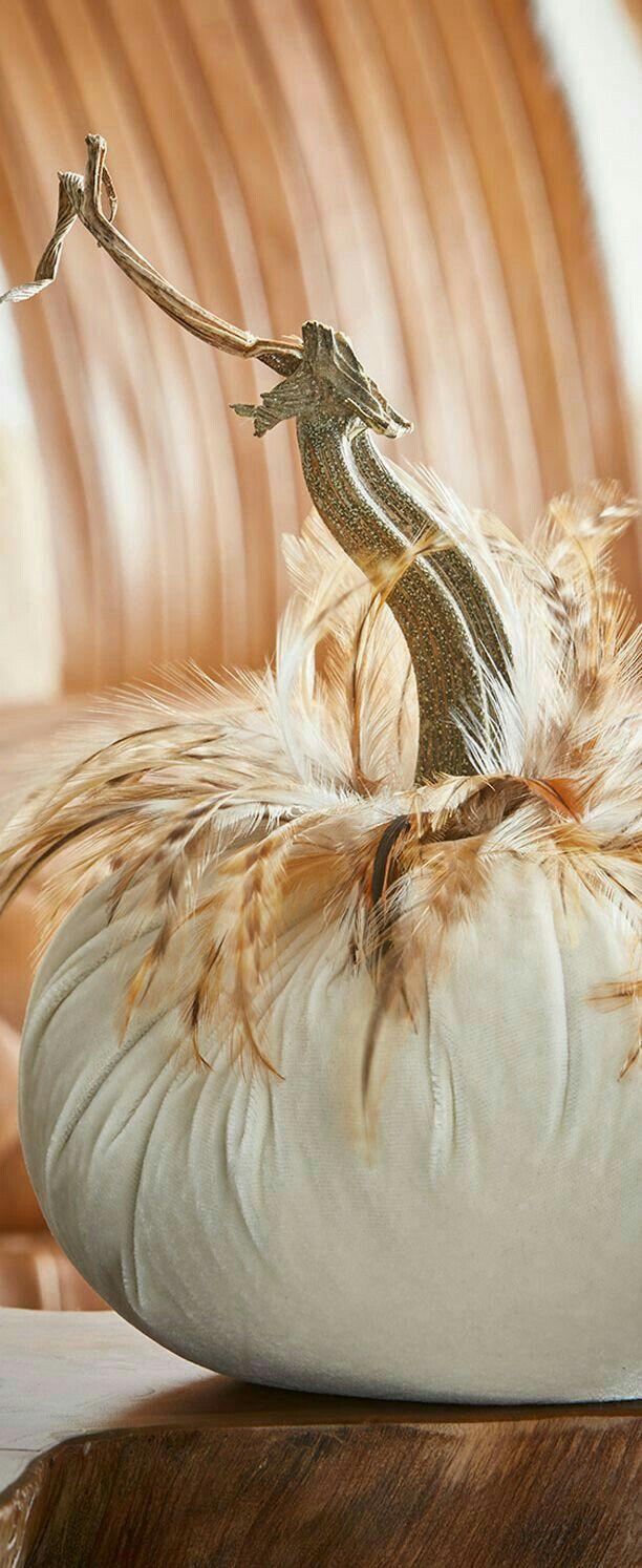 Classy Halloween No Carve Pumpkin Decor