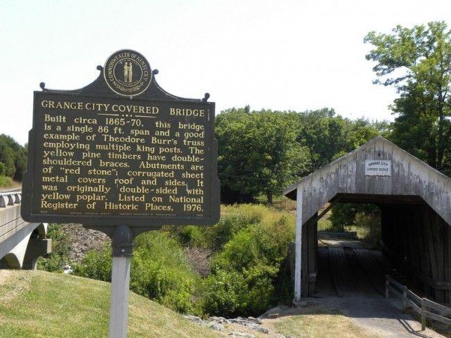 Grange City Covered Bridge, Fleming Co. KY