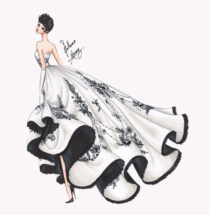 Sabrina by frozen-winter-prince. illustration, sketches, fashion, dress