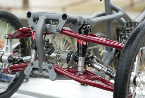 Athos 4 wheel quad tech at its best!