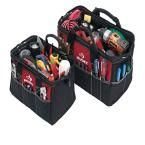 Husky 15 in. and 12 in. Tool Bag Combo, Red And Black