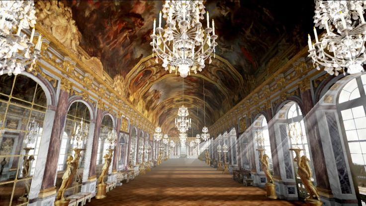 Chromeで体験できる「ベルサイユ宮殿3Dツアー」が面白い!   GGSOKU - ガジェット速報