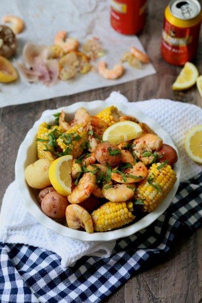 Easy new orleans shrimp boil favorite recipes pinterest for Boiled fish recipe