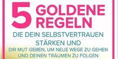 Blogbild 5 Goldene Regeln die Dein Selbstvertrauen stärken