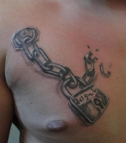 35 best chain tattoos images on pinterest chain tattoo tattoo rh pinterest com tattoos of chains and locks tattoos of chains and locks