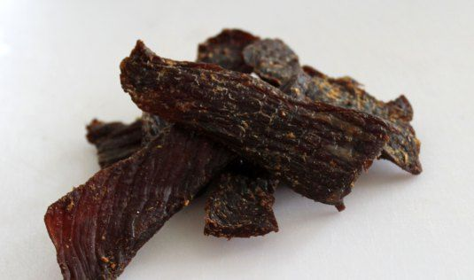 AIP Beef Jerky in dehydrator or oven