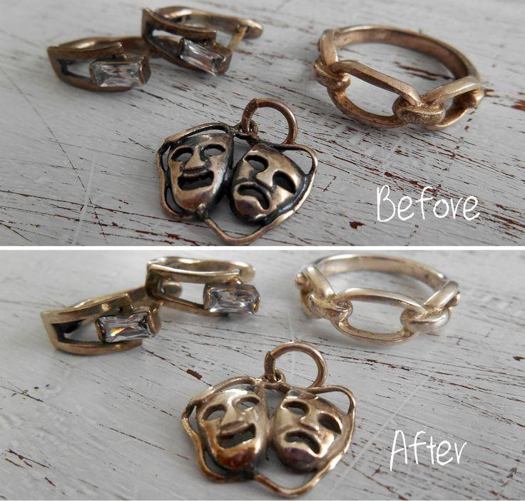 Zelf zilverpoets maken is makkelijk en goedkoop met deze simpele ingrediënten. Je sieraden zijn binnen de kortste keren weer als nieuw!