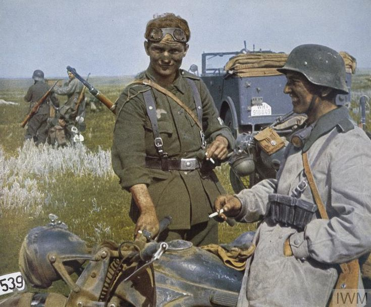 THE GERMAN ARMY ON THE EASTERN FRONT DURING THE SECOND WORLD WAR