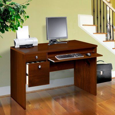 Nexera Essentials 48-Inch Computer Desk with File Drawers - Truffle by Megalak Finition Inc. $299.99. Classic and compact the Nexera Essentials 48-Inch Computer Desk with File Drawers - Truffle keeps your computer and office supplies organized and accessible. The durable commercial-grade laminate desktop resists scratches water and stains. A pull-out keyboard shelf rolls smoothly on metal slides while the storage drawer provides space for pens paper and other office supplies. The...