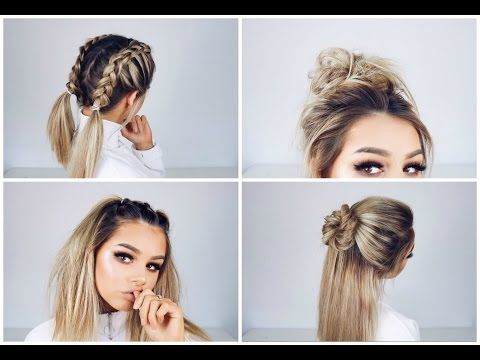 Quick And Easy Hairstyles For Medium Hair 40 Best Hair Style Tips Images On Pinterest  Hair Makeup Easy