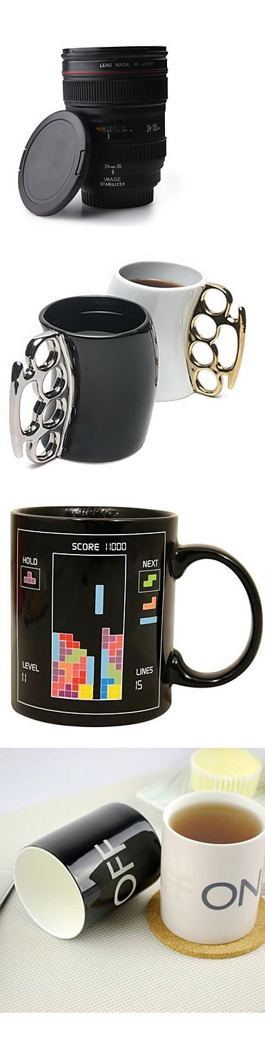 Cool mugs! Great gift for a friend! Which coffee mug do you like most? Click on the picture to see more.