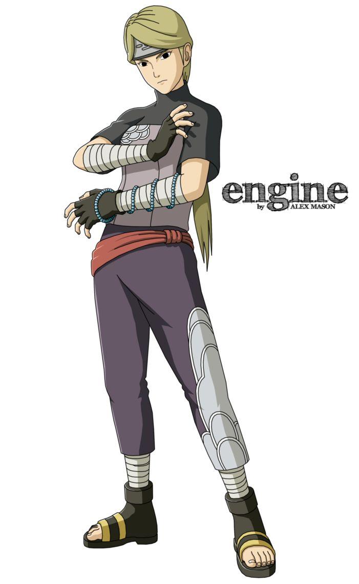 Yugito Nii by MasonENGINE   Naruto shippuden characters ...