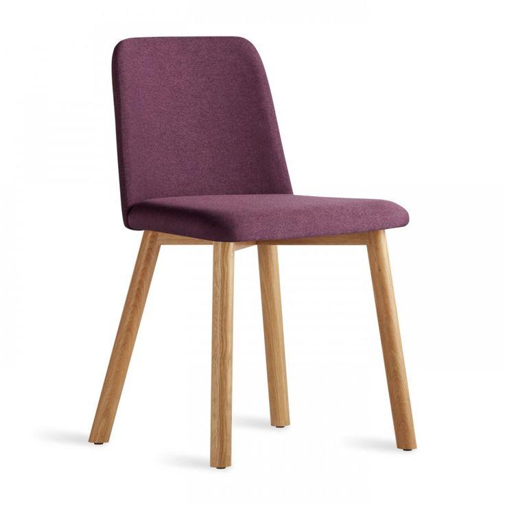 grasstanding eplap 17621 urban furniture. chip chair in white oak and purple blu dot grasstanding eplap 17621 urban furniture
