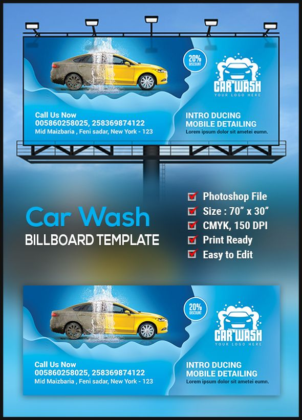 7 best Miguels Mobile Car Wash of Anaheim images on Pinterest - car ad template