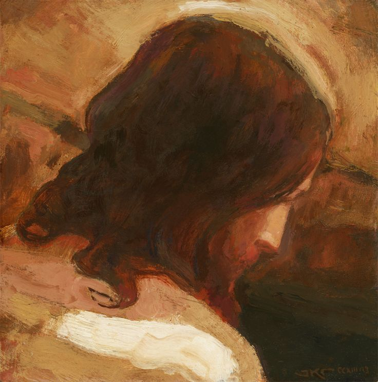 Healer (Christ Among the Lepers - detail 1):