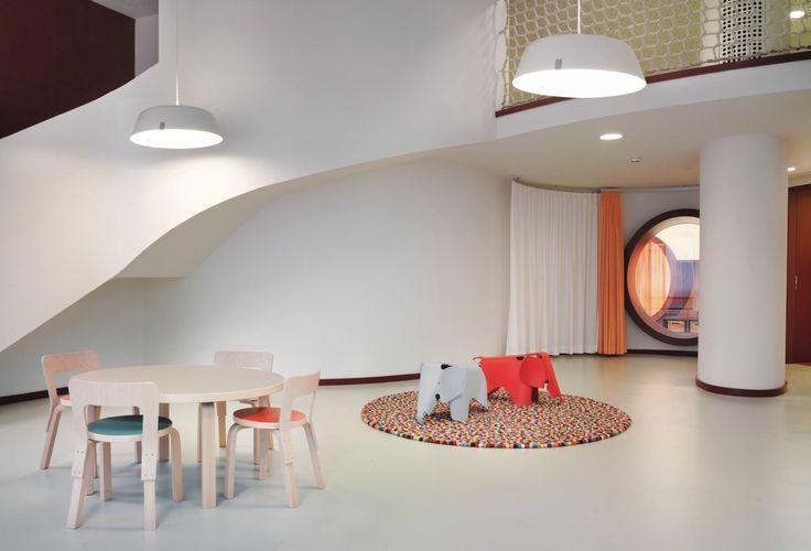 Novartis, Day Care Center, Basel, Switzerland, 2011  / N65 Children's Chair, 90A Table