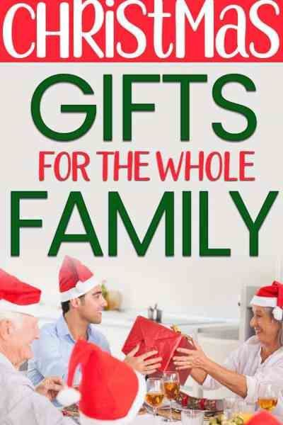 Inexpensive Christmas Gift Ideas for the whole family Christmas