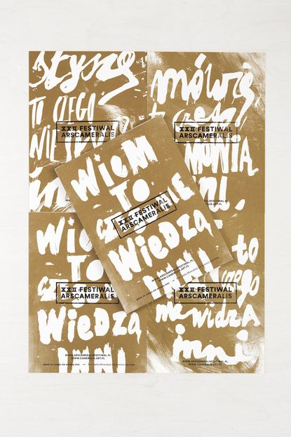 Marta Gawin, graphic design, poster, typography
