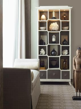 Century Furniture   Infinite Possibilities. Unlimited Attention.® Peking  Open Display Cabinet #doerrfurniture