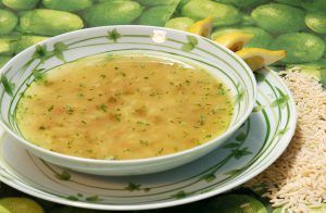 Madárnyelv leves - Shorbat lisan el asfoor