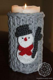 Szydełkowa pasja Kaśki: Wyzwanie - Otuleni zimą