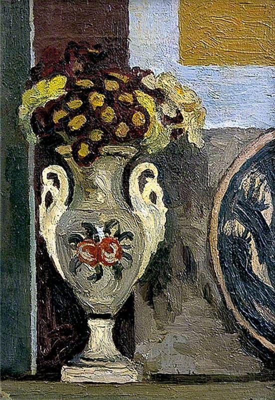 Still Life, Polyanthus in Vase. Vanessa Bell.