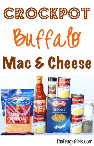 Crockpot Buffalo Mac and Cheese Recipe! ~ from TheFrugalGirls.com ~ this Slow Cooker Macaroni and Cheese is serious comfort food with outrageous zing... perfect for Dinner or Game Day! #slowcooker #recipes #thefrugalgirls