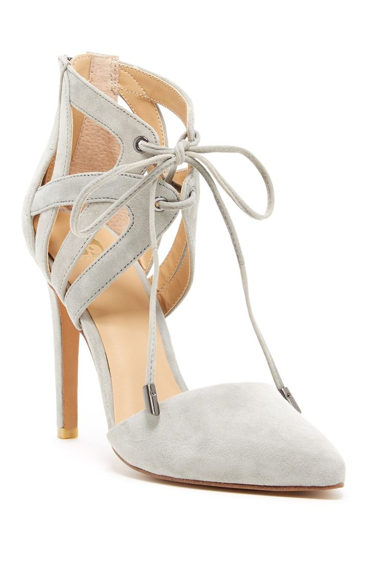 Camden Lace-Up Pump by Joe's Jeans on @nordstrom_rack