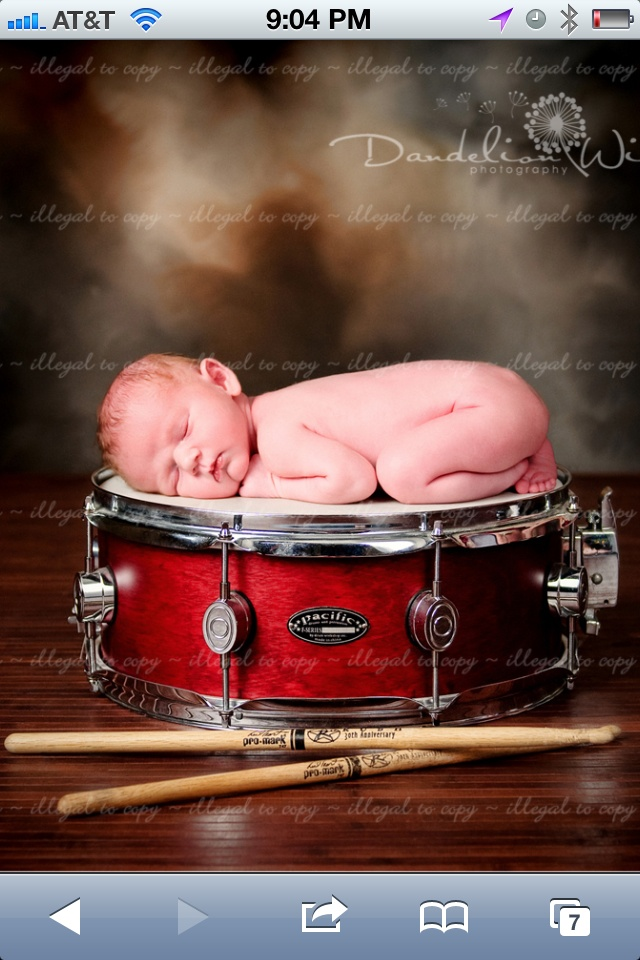 Snare drum baby!