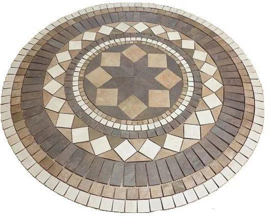 Roseton Ceramico Loft Mix De Cerro Negro - Guardas, Mallas - $ 2.950,00 en Mercado Libre