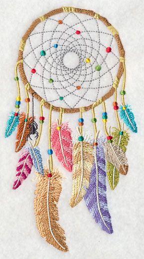 Bohemian Dream Catcher design (L3282) from www.Emblibrary.com