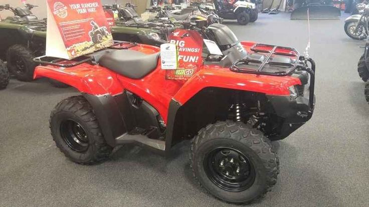 New 2016 Honda FourTrax Rancher ES ATVs For Sale in Missouri. 2016 Honda FourTrax Rancher ES, 2016 Honda® FourTrax® Rancher® Choose The Perfect ATV For The Job Or Trail. Every ATV starts with a dream. And where do you dream of riding? Maybe you ll use your ATV for hunting or fishing. Maybe it needs to work hard on the farm, ranch or jobsite. Maybe you want to get out and explore someplace where the cellphone doesn t ring, where the air is cold and clean. Or maybe it s for chores around…