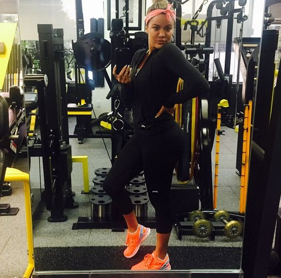 Khloé Kardashian Knows How to Dip It Low in the Gym—See Her Sexiest Workout Pics!  Khloe Kardashian, Gym Pics