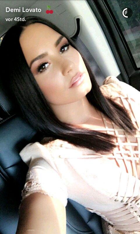 Demi Lovato snapchat