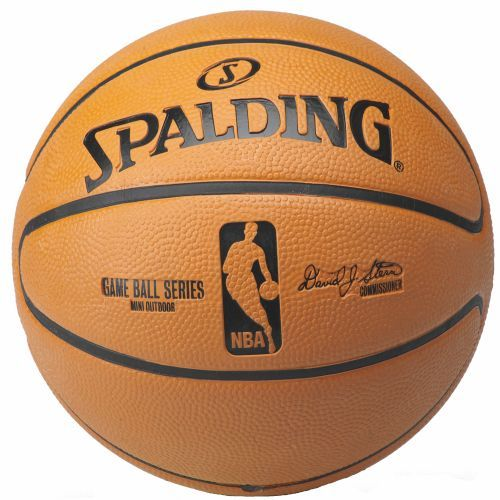 Spalding NBA Replica Game Ball Mini-Size Youth Basketball - Basketball Accessories at Academy Sports