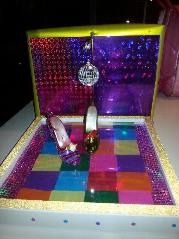 Dansvloer met echte lampjes! Voor iemand die van dansen houdt.