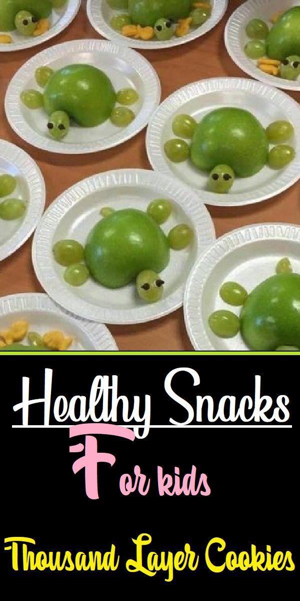 Apple Turtle Snack healthy snacks for kids healthy