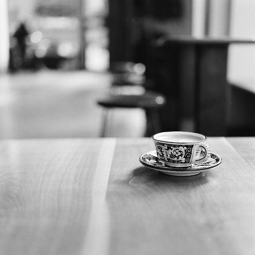 Cappuccino at La Colombe - NYC Hasselblad 500CM   Kodak T-Max 400