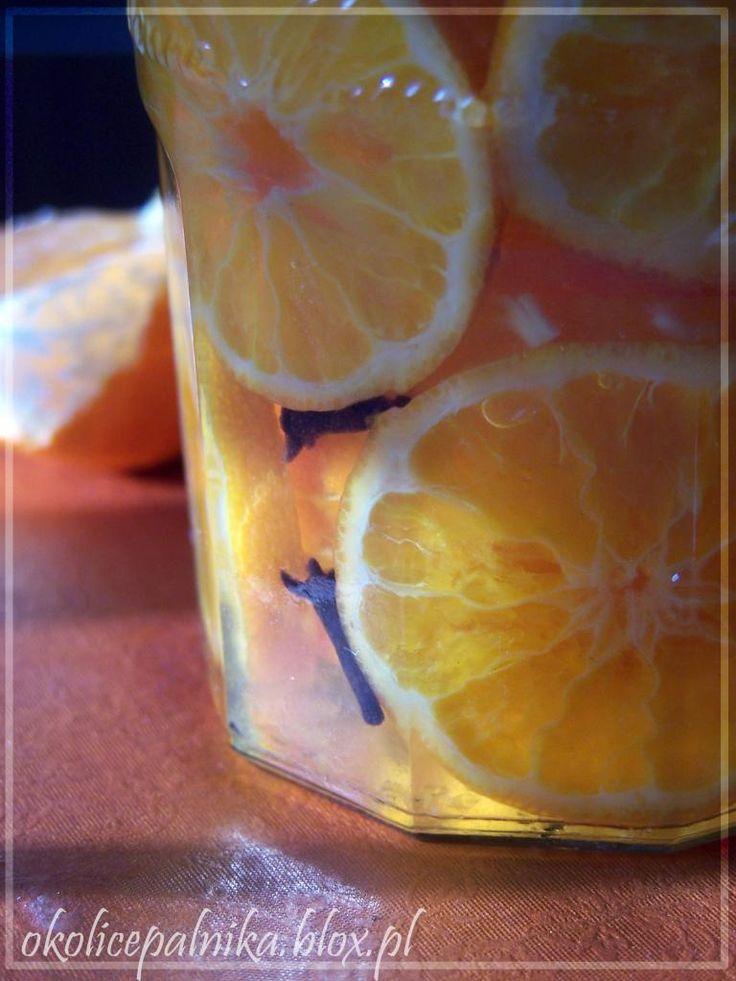 Kandyzowane mandarynki http://okolicepalnika.blox.pl/2013/12/Kandyzowane-mandarynki-i-wygrana-Kulinarnego.html