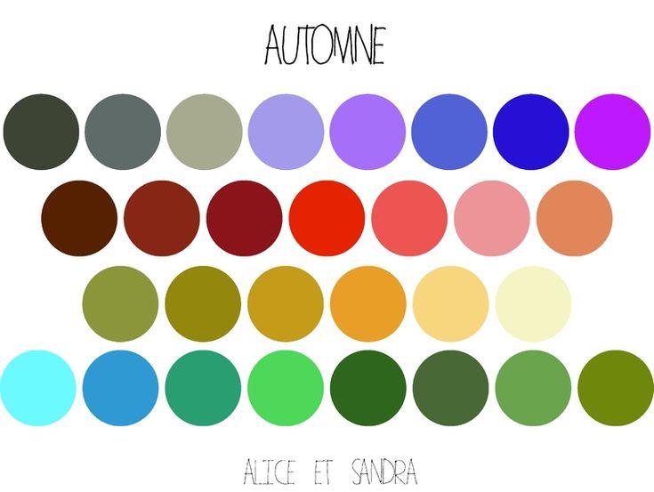 ma personal wardrobe tape 4 ton nuancier de couleurs automne nuancier - Nuancier Crazy Color