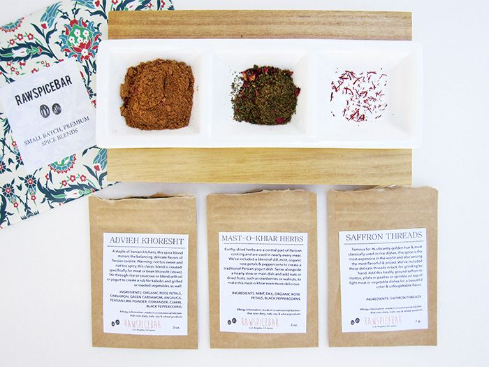 Receive a monthly spice box of 3-4 hand-picked, small batch, freshly ground spice blends delivered to your door with the RawSpiceBar Spice of the Month Club. Learn more about RawSpiceBar Spice of the Month Club at Find Subscription Boxes: http://www.findsubscriptionboxes.com/box/rawspicebar-spice-of-the-month-club/