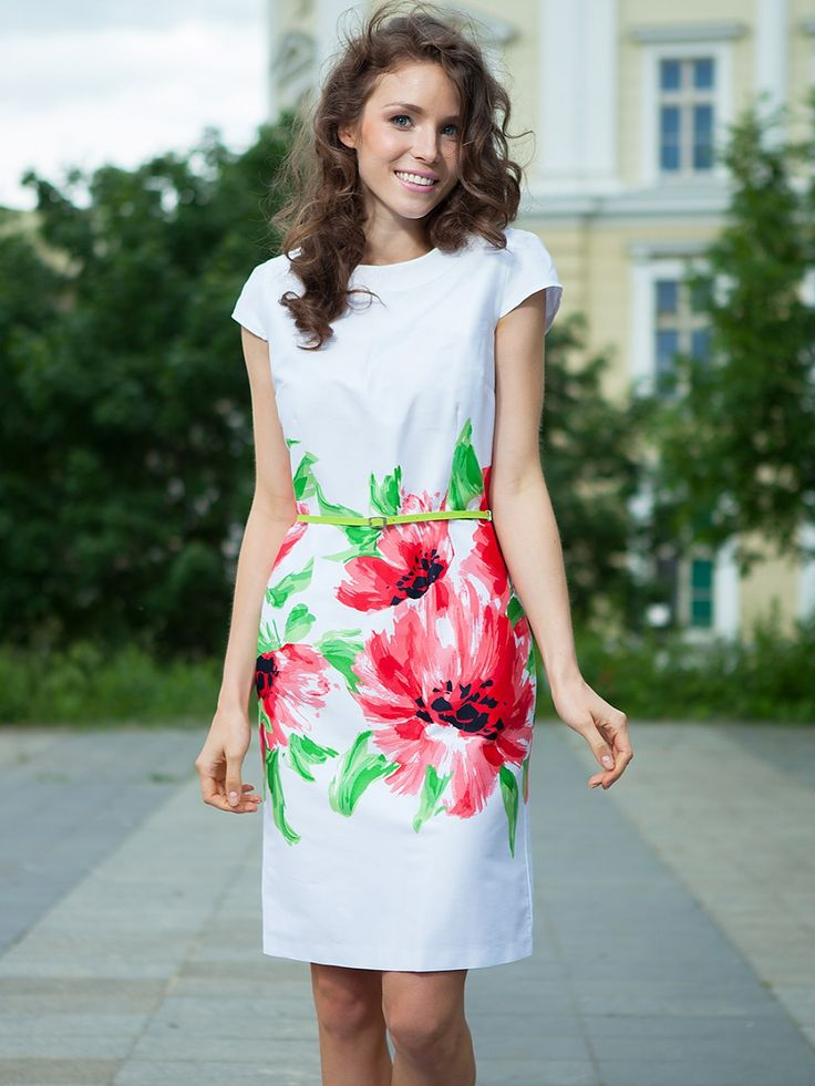 Büyük çiçekli beyaz elbise - Quiosque http://subbshop.com/tr/b%C3%BCy%C3%BCk-%C3%A7i%C3%A7ekli-beyaz-elbise-quiosque