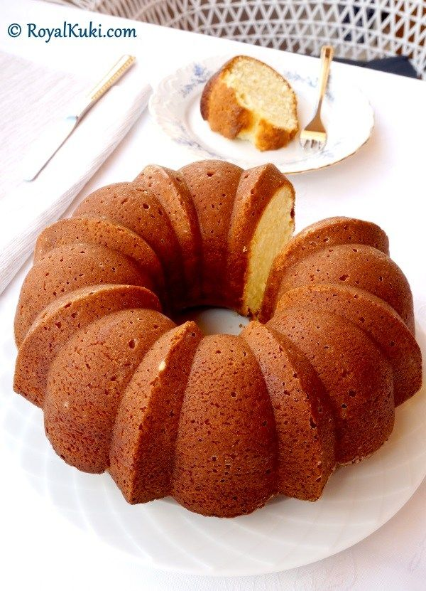 Limonlu Yoğurtlu Kek