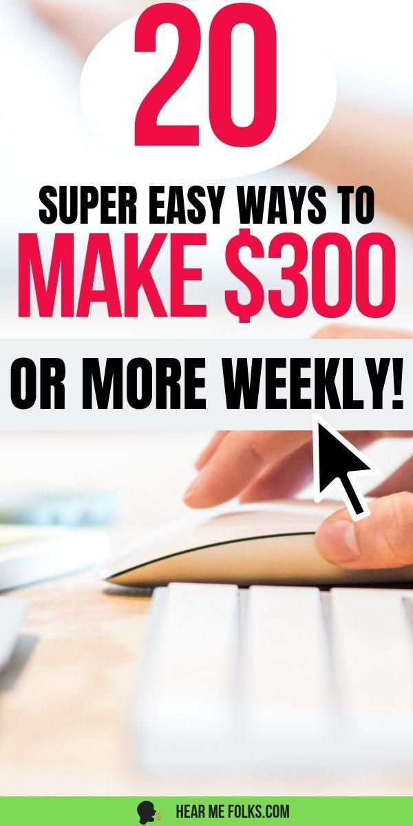 Wie man einen zusätzlichen $ 300 oder mehr wöchentlich verdient