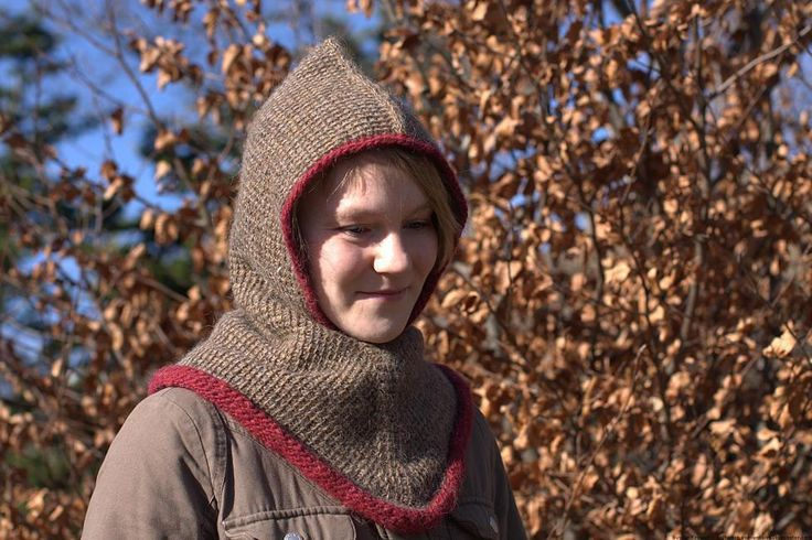 Video Game crochet patterns: Viking Skyrim hood pattern by PAtrick Zein