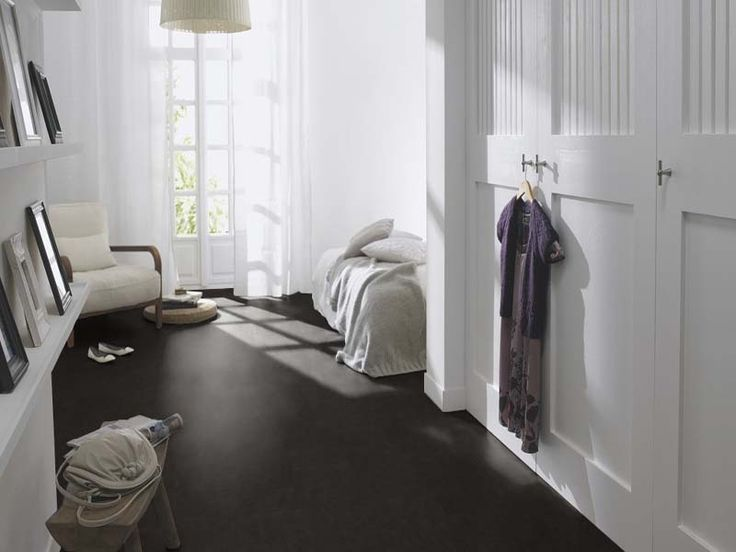 Marmoleum click raven forbo flooring home - Forbo marmoleum click ...