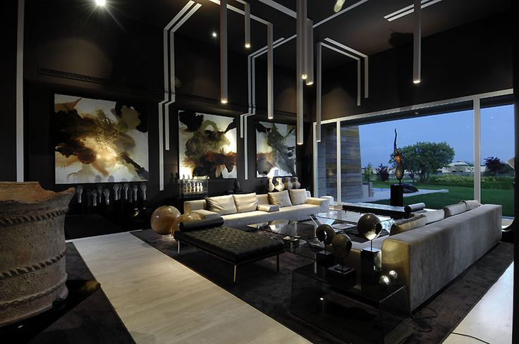 My future living room! Lol Living Room, Vivienda 4 Luxury Development, Madrid by A-cero Architects