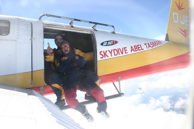 As explained by someone who is terrified by heights but survived — and even loved! — his skydiving experience.